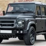 Последняя модель Land Rover Defender