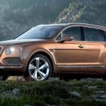 Bentley Bentayga появился в России