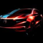 Опубликованы наработки кроссовера Acura MDX