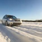 Тест небольших «снежных» внедорожников