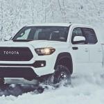 Модифицированный пикап Toyota Tacoma в Чикаго