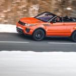 Обзор кроссовера-кабриолета Range Rover Evoque