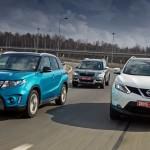 Сравнение кроссоверов Suzuki Vitara, Nissan Qashqai и Skoda Yeti